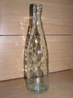 Белое стекло бутылка с надписью talko