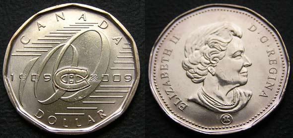 Доллар 2009 100 лет хоккейному клубу