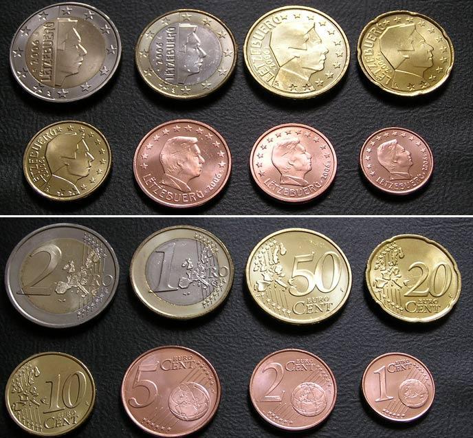 Евро наборы разных стран