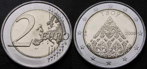 Евро 2009 финляндия 200 лет автономии